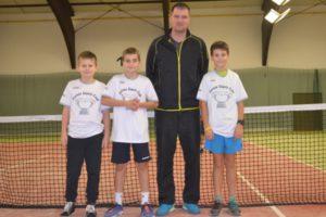 Výběr západočeského kraje na Junior Davis Cup